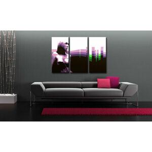 Maľovaný POP Art obraz Zľava 50 % Susi 3 dielny 120X80 cm susi/24h (objednajte do 12:00 s doručením do 24 hodín)