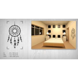 Nálepka na stenu LAPAČ SNOV 50x100 cm NALS007/24h - biela farba (skladom)