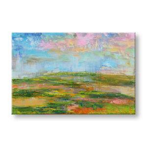 Maľovaný obraz Zľava 40 % na stenu ABSTRAKT 100x65 cm FB466E1/24h (skladom)