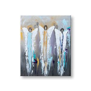 Maľovaný obraz na stenu Zľava 40% ANJELI 1-dielny 70x85 cm YOBFB562E1/24h (skladom)