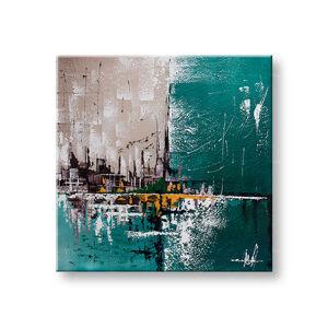 Maľovaný obraz na stenu Zľava 40% ABSTRAKT 50x50cm YOBFB554E1/24h (skladom)