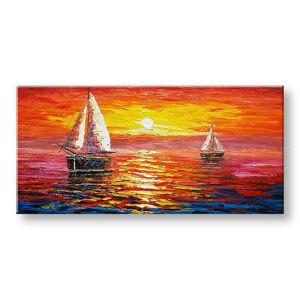 Maľovaný obraz na stenu Zľava 40% MORE 100x50 cm BI143E1/24h (skladom)