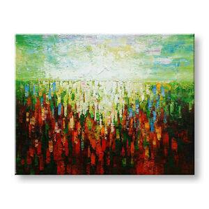 Maľovaný obraz na stenu Zľava 40% ABSTRAKT 180x140 cm BI174E1/24h (skladom)
