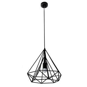Závesná lampa WIRE 36x62 cm (Svietniky a lampy)