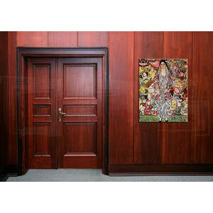 Obraz na plátne PORTRÉT FRIEDERIKE MARIA BEER – Gustav Klimt  REP043 (reprodukcia 80x60 cm)