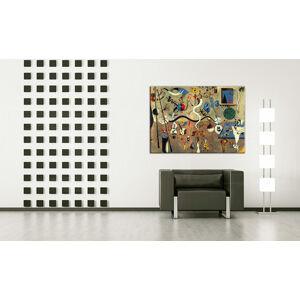 Obraz na plátne CARNIVAL OF HARLEQUIN – Joan Miro REP071 (reprodukcia 50x70 cm)