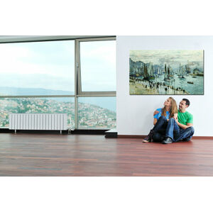 Obraz na plátne RYBÁRSKE LODE OPUSTILI PRÍSTAV LE HAVRE – Claude Monet    REP0 (reprodukcia 100x60 cm)