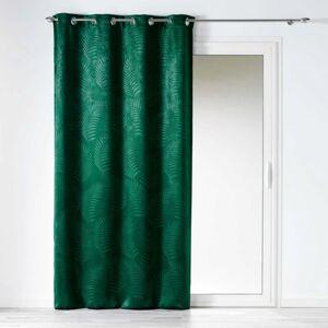 Záves TROPICALINE GREEN zatemňovací 1ks 140x240 cm (Zatemňovací záves 1ks)