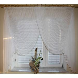 Záclona s riasením FB1 (bytová dekorácia)