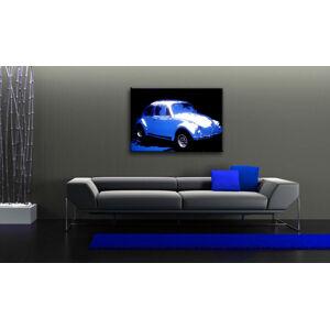 Ručne maľovaný POP Art obraz Volkswagen Beetle  k (POP ART obrazy)