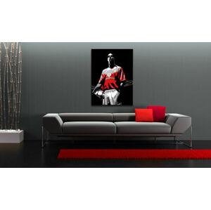 Ručne maľovaný POP Art obraz Ruud van Nistelrooy  rvn (POP ART obrazy)