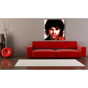 Ručne maľovaný POP Art obraz Jim Morrison  jm2 (POP ART obrazy)