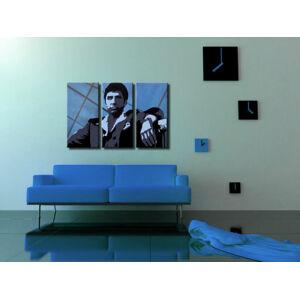 Ručne maľovaný POP Art obraz AL PACINO 3 dielny  al19 (POP ART obrazy)