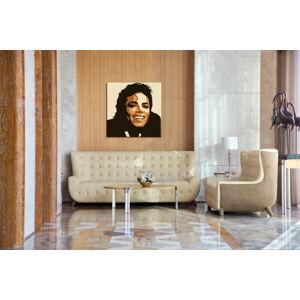 Ručne maľovaný POP Art obraz Michael Jackson  mj6 (POP ART obrazy)