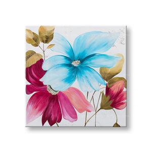 Maľovaný obraz na stenu DeLUXE KVETY 1 dielny YOBDO151D1 (maľovaný obraz DeLUXE)
