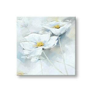 Maľovaný obraz na stenu KVETY FB035E1 (maľované obrazy FABIO)