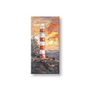 Maľovaný obraz na stenu MAJÁK FB064E1 (maľované obrazy FABIO)