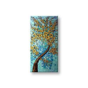 Maľovaný obraz na stenu STROMY FB104E1  (maľované obrazy BIANCA)