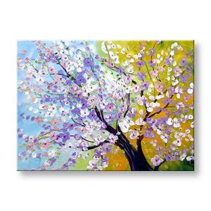 Maľovaný obraz na stenu STROMY FB121E1 (maľované obrazy FABIO)