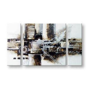 Maľovaný obraz na stenu ABSTRAKT FB190E3 (maľované obrazy FABIO)