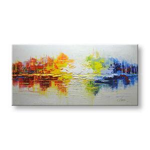 Maľovaný obraz na stenu ABSTRAKT FB199E1 (maľované obrazy FABIO)