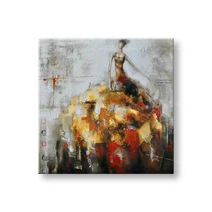 Maľovaný obraz na stenu ŽENA FB225E1 (maľované obrazy FABIO)