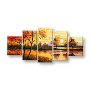 Maľovaný obraz na stenu STROMY FB408E5 (maľované obrazy FABIO)