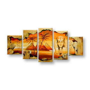 Maľovaný obraz na stenu EGYPT FB409E5 (maľované obrazy FABIO)
