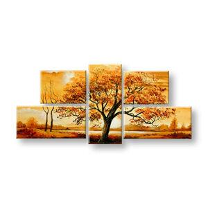 Maľovaný obraz na stenu STROMY FB410E5 (maľované obrazy FABIO)