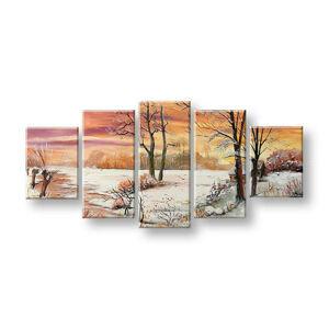 Maľovaný obraz na stenu KRAJINA FB429E5 (maľované obrazy FABIO)