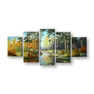 Maľovaný obraz na stenu KRAJINA FB443E5 (maľované obrazy FABIO)