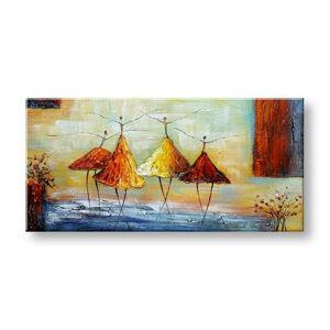 Maľovaný obraz na stenu TANEČNICE FB459E1 (maľované obrazy FABIO)