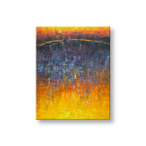 Maľovaný obraz na stenu ABSTRAKT FB476E1 (maľované obrazy FABIO)