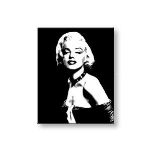 Ručne maľovaný POP Art obraz Marilyn MONROE  mon5 (POP ART obrazy)