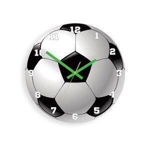Moderné nástenné hodiny FOOTBALL HMCNH076 (Hodiny na stenu)