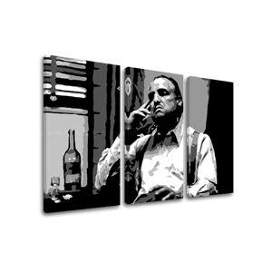 Tlačený POP Art obraz Marlon Brando 3 dielny mb2 (pop art obrazy)