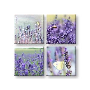 Obraz na stenu Lavender dream 4 dielny XOBKOL06E42 (moderné obrazy na plátne )