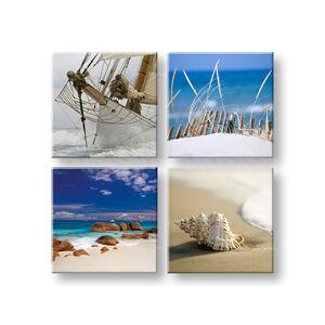 Obraz na stenu Song of the sea 4 dielny XOBKOL09E42 (moderné obrazy na plátne )