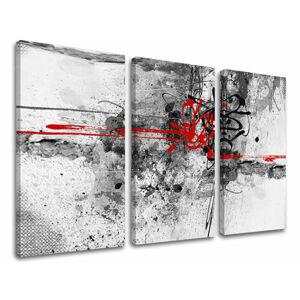 Obraz na stenu 3 dielny ABSTRAKT AB016E30 (HD obrazy na plátne)