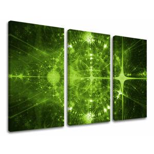 Obraz na stenu 3 dielny ABSTRAKT AB056E30 (HD obrazy na plátne)