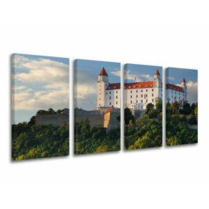 Obraz na stenu 4 dielny SLOVENSKO SK003E41 (moderné obrazy na plátne)