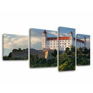 Obraz na plátne 4 dielny SLOVENSKO SK003E40 (moderný 4 dielny obraz na plátne)
