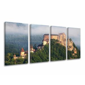 Obraz na stenu 4 dielny SLOVENSKO SK010E41 (moderné obrazy na plátne)