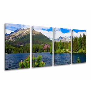 Obraz na stenu 4 dielny SLOVENSKO SK014E41 (moderné obrazy na plátne)
