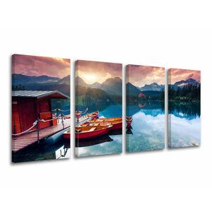 Obraz na stenu 4 dielny SLOVENSKO SK019E41 (moderné obrazy na plátne)