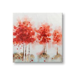 Maľovaný obraz na stenu ABSTRAKT 1 dielny CWF11078WE1 - 70x70 cm (maľované obrazy)