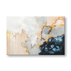 Maľovaný obraz na stenu ABSTRAKT 1 dielny CWF11306WE1 - 90x60 cm (maľované obrazy)