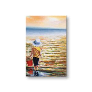 Maľovaný obraz na stenu MORE 1 dielny 60x90 cm CWF1485SDE1 (maľované obrazy)