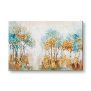 Maľovaný obraz na stenu STROMY 1 dielny CWF1537WE1 - 90x60 cm (maľované obrazy)