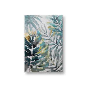 Maľovaný obraz na stenu LISTY 1 dielny 60x90 cm CWF1731WE1 (maľované obrazy)